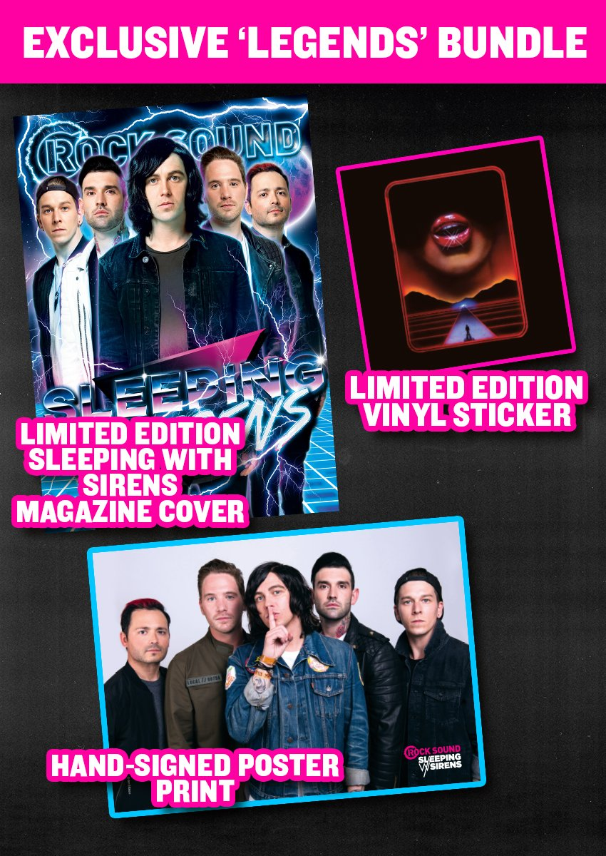 Rock Sound Issue 231.3 - Sleeping With Sirens 'Legends' Bundle - Rock Sound Shop