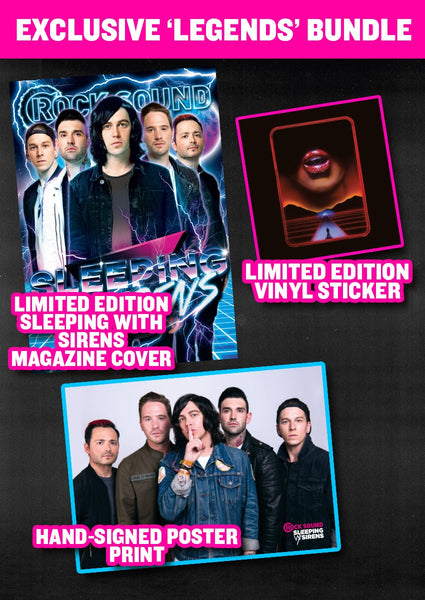 Rock Sound Issue 231.3 - Sleeping With Sirens 'Legends' Bundle
