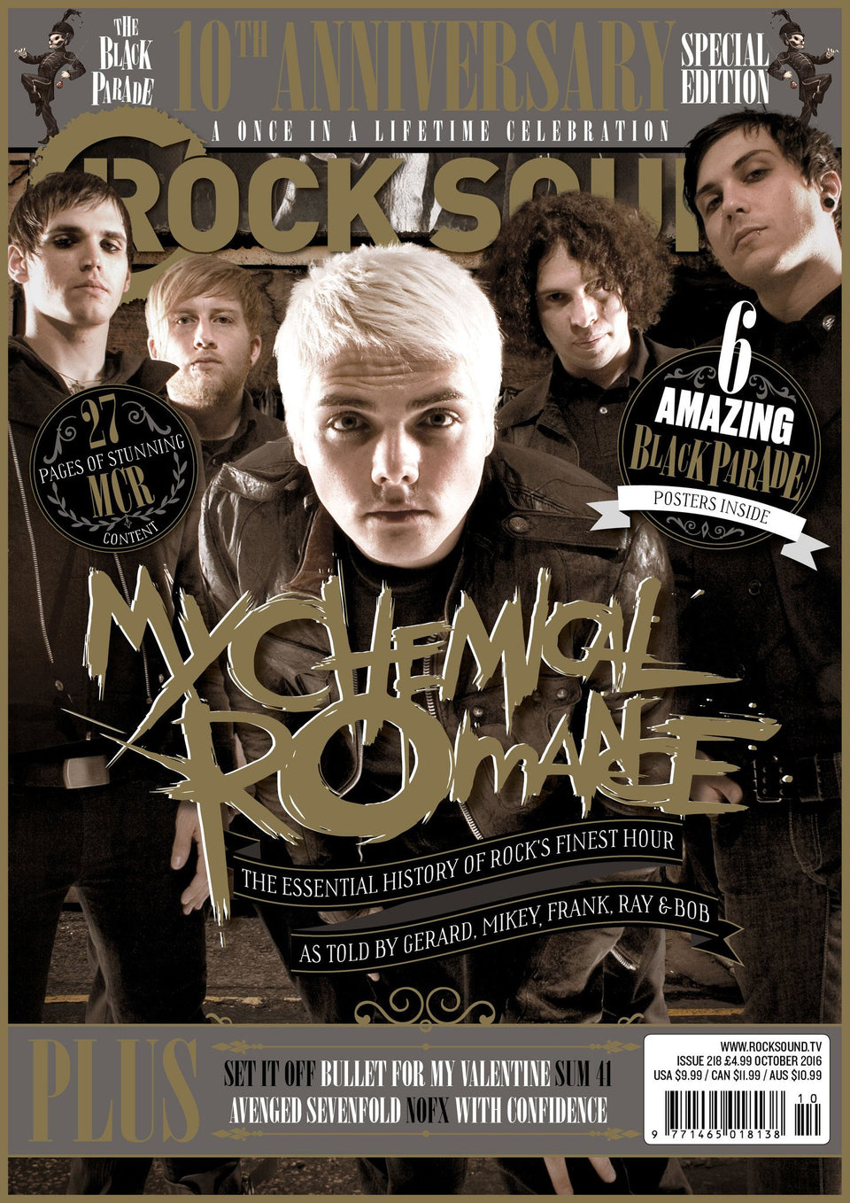 Rock Sound Issue 218 - My Chemical Romance - Rock Sound Shop