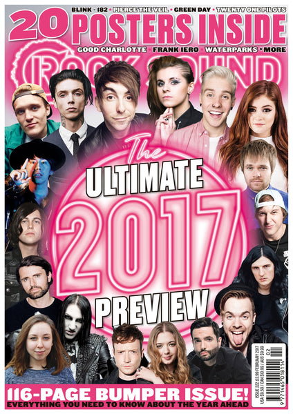Rock Sound issue 222 with Ultimate 2017 preview featuring All Time Low, PVRIS, Paramore, State Champs, Sleeping With Sirens and SO MANY MORE