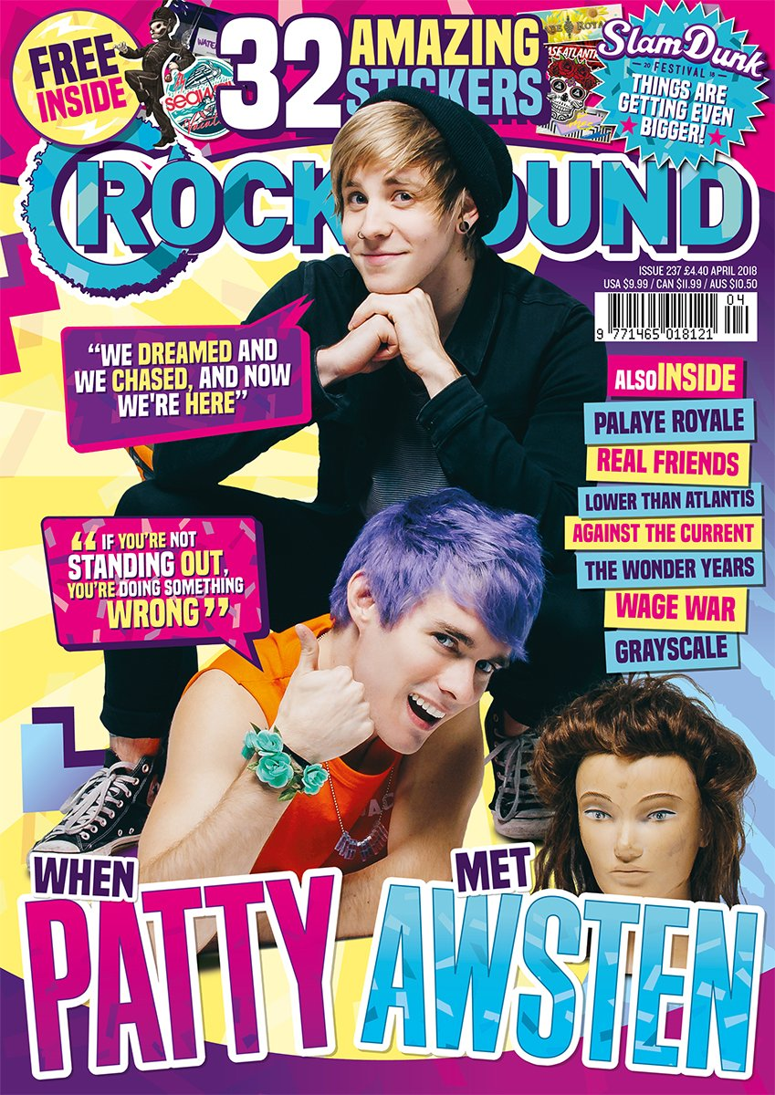 Rock Sound Issue 237.1 - Patty Walters & Awsten Knight