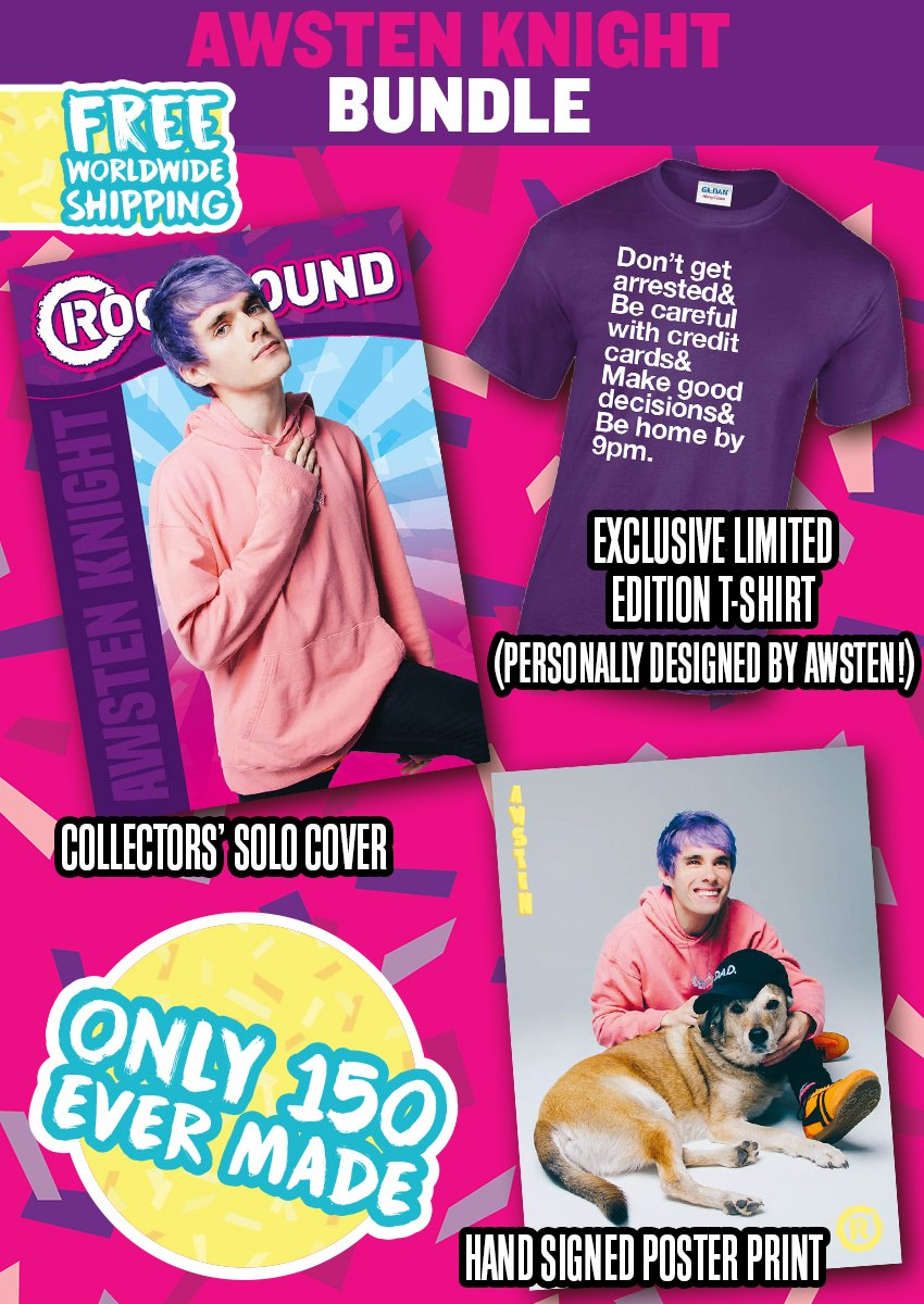 Rock Sound Issue 237.2 - Awsten Knight Bundle - Rock Sound Shop