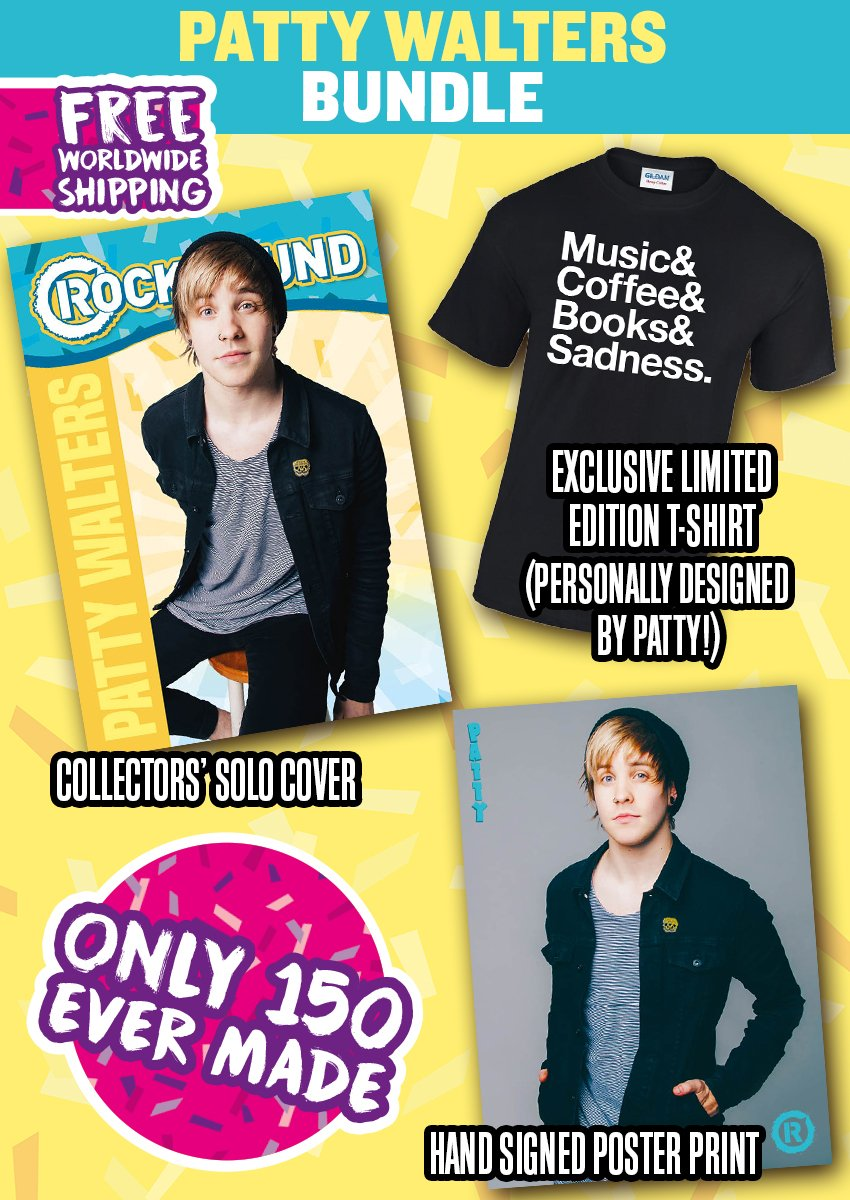 Rock Sound Issue 237.3 - Patty Walters Bundle - Rock Sound Shop
