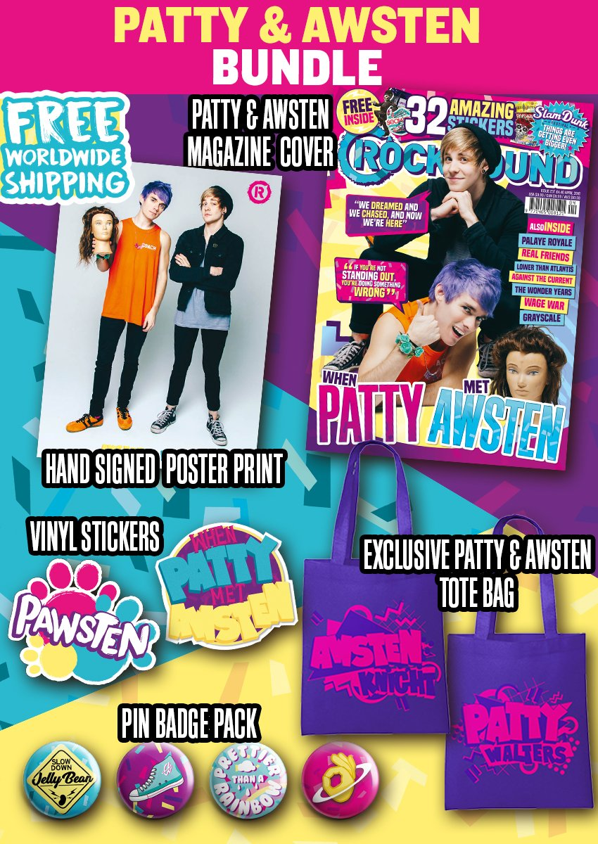 Rock Sound 237.4 - Patty & Awsten Bundle