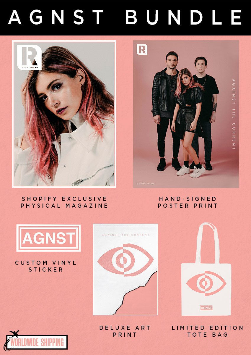 Rock Sound Issue 245.1 - Against The Current AGNST Bundle - Rock Sound Shop