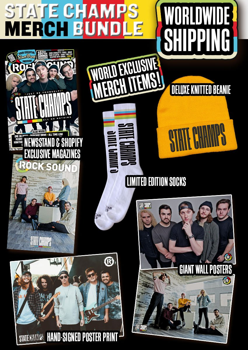 Rock Sound Issue 239.4 - State Champs Merch Bundle