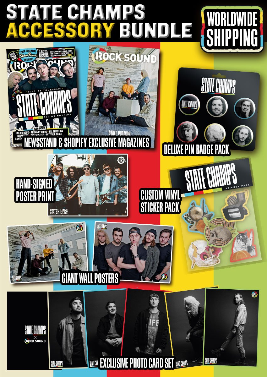 Rock Sound Issue 239.3 - State Champs Accessory Bundle - Rock Sound Shop
