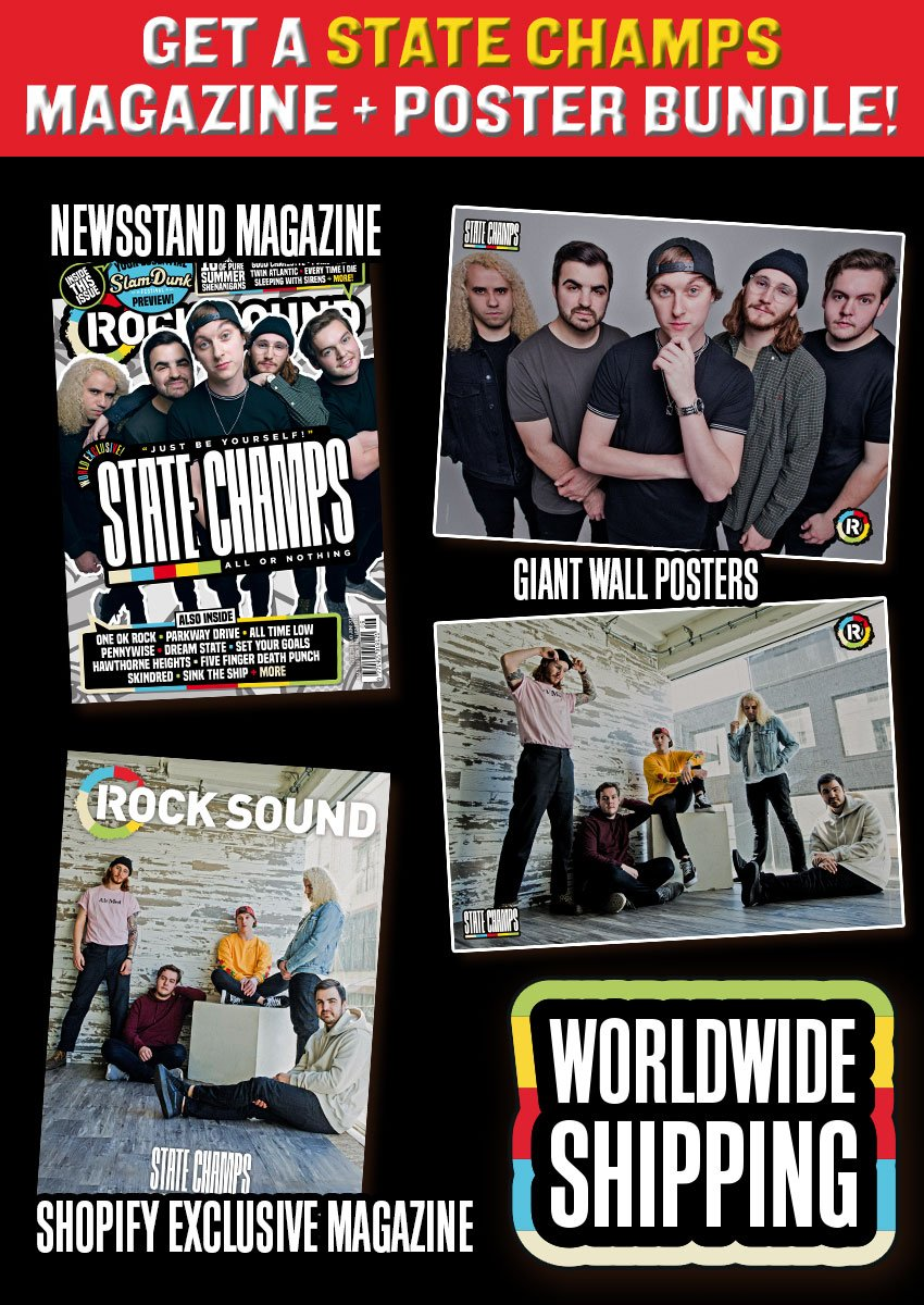 Rock Sound Issue 239.2 - State Champs Magazine + Poster Bundle - Rock Sound Shop