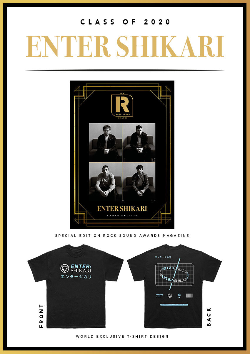 Rock Sound Awards 273.4 - Enter Shikari T-Shirt Pack