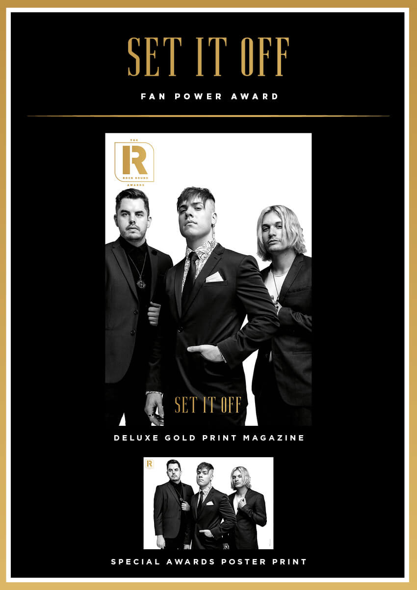 Rock Sound Awards 260.4 - Set It Off - Rock Sound Shop
