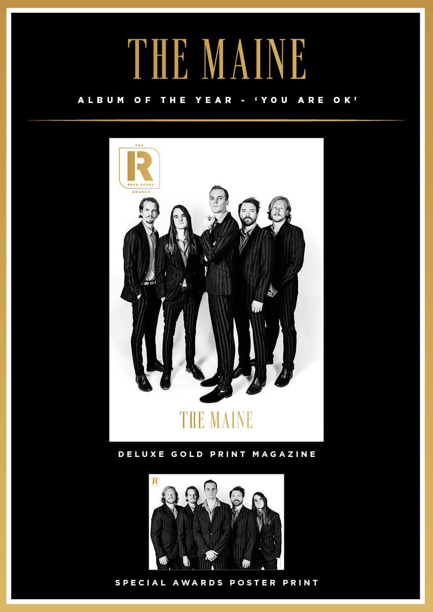 Rock Sound Awards 260.7 - The Maine - Rock Sound Shop