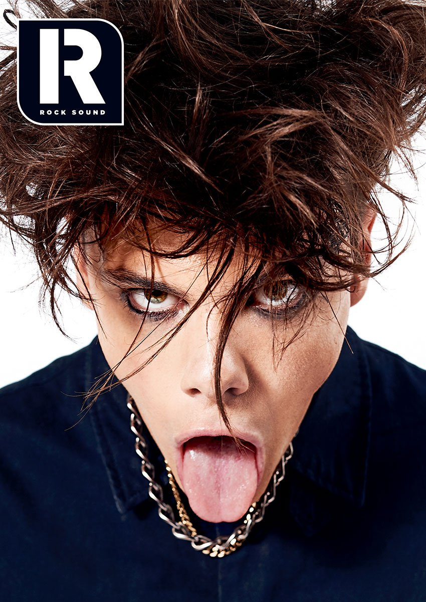 Exxclusive online variant of Yungblud first ever magazine cover in the world for Rock Sound issue 248