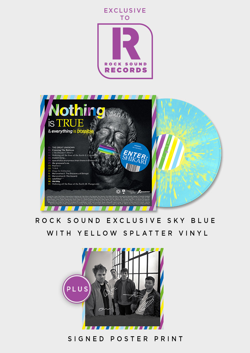 Enter Shikari - 'Nothing Is True & Everything Is Possible' Vinyl + Signed Print - Rock Sound Shop