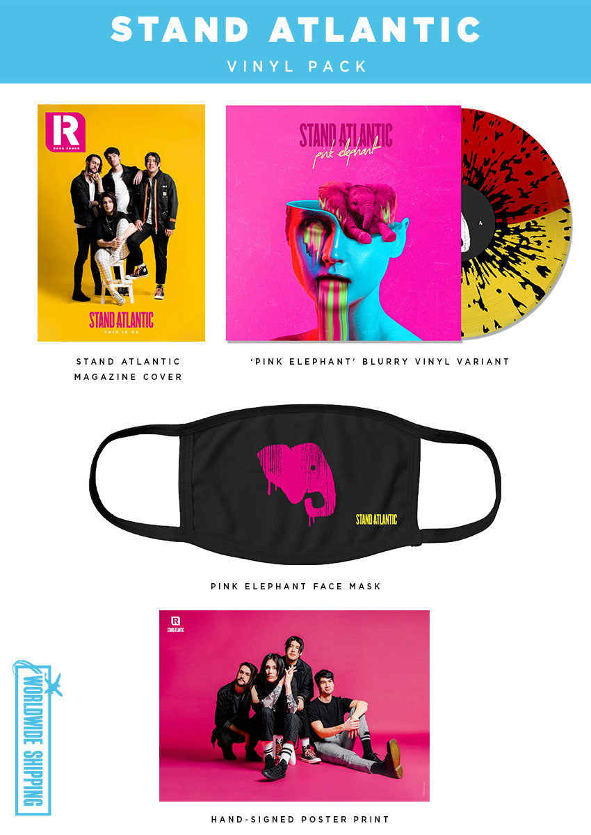 Rock Sound Issue 268.2 - Stand Atlantic Vinyl Pack - Rock Sound Shop