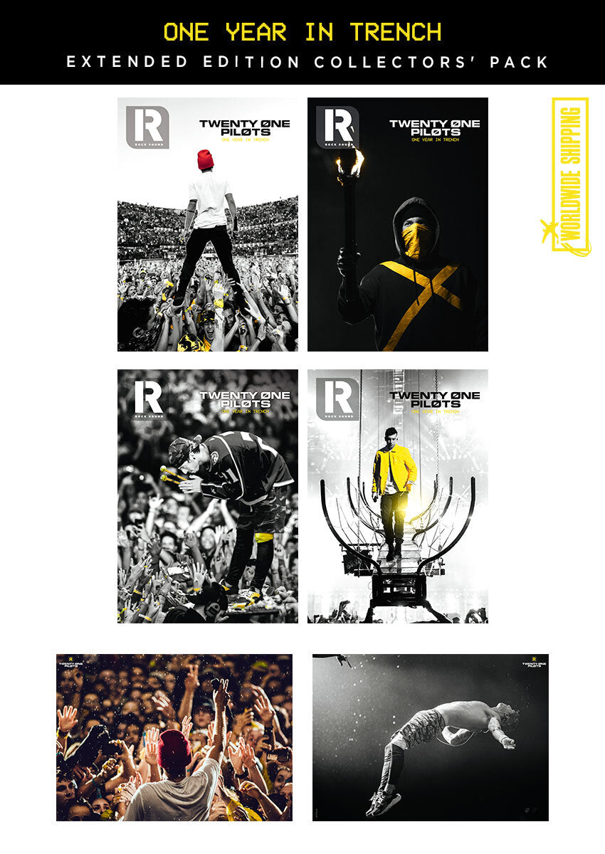 Twenty One Pilots Collectors Magazine & Poster Pack - Rock Sound 257.1