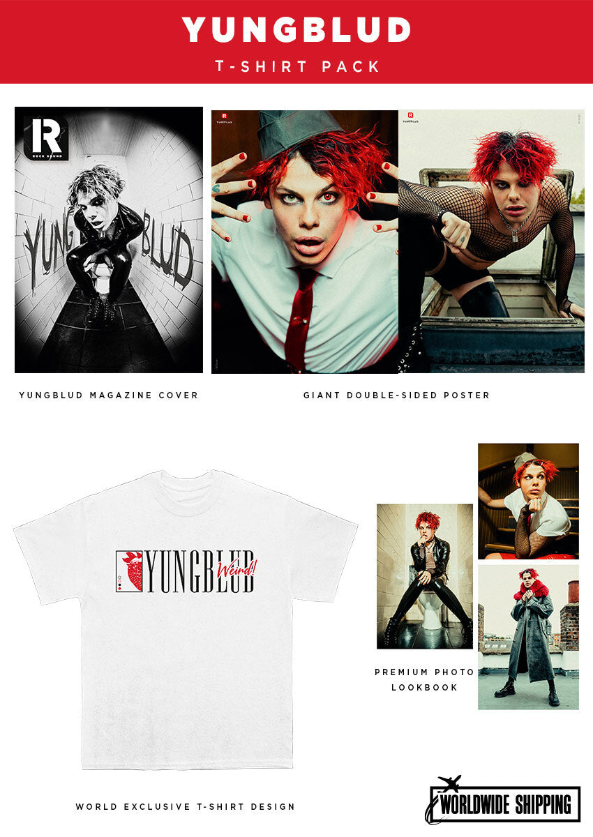 Rock Sound Issue 272.2 - Yungblud T-Shirt Pack