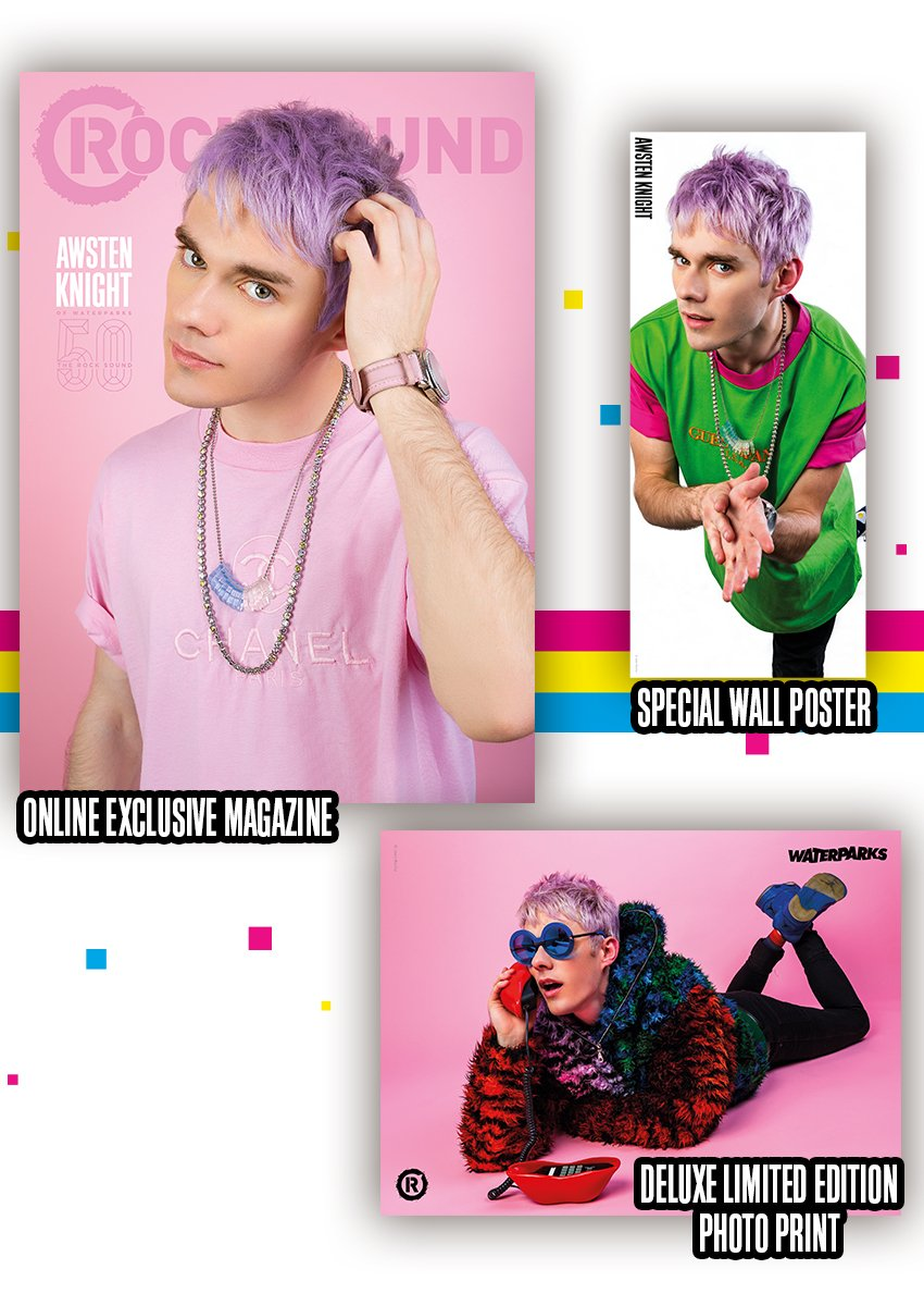 Rock Sound Issue 241.4 - Awsten Magazine + Poster Print