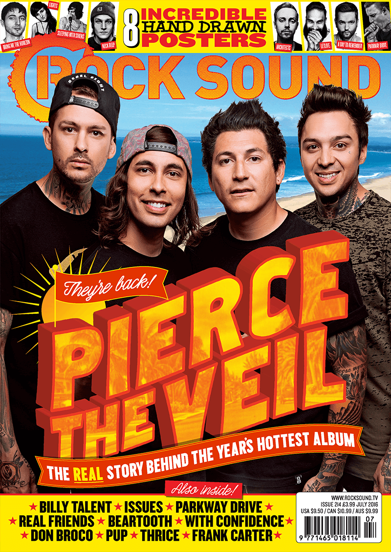 Rock Sound Issue 214 - Pierce The Veil