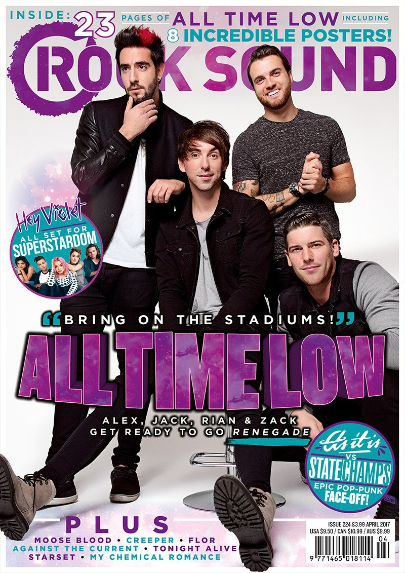 Rock Sound Issue 224 - All Time Low - Rock Sound Shop