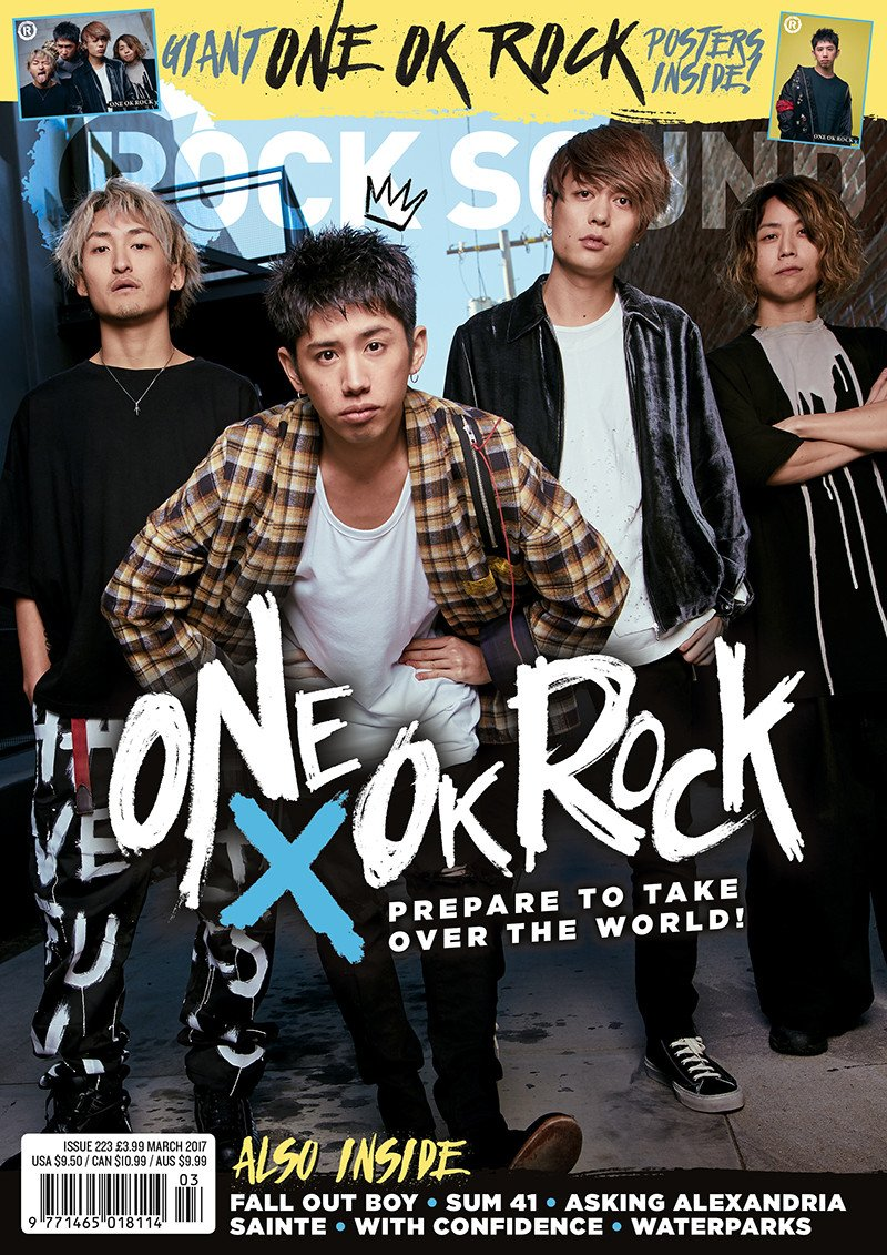 Rock Sound Issue 223.2 - One OK Rock (Full Band) + One OK Rock Posters - Rock Sound Shop