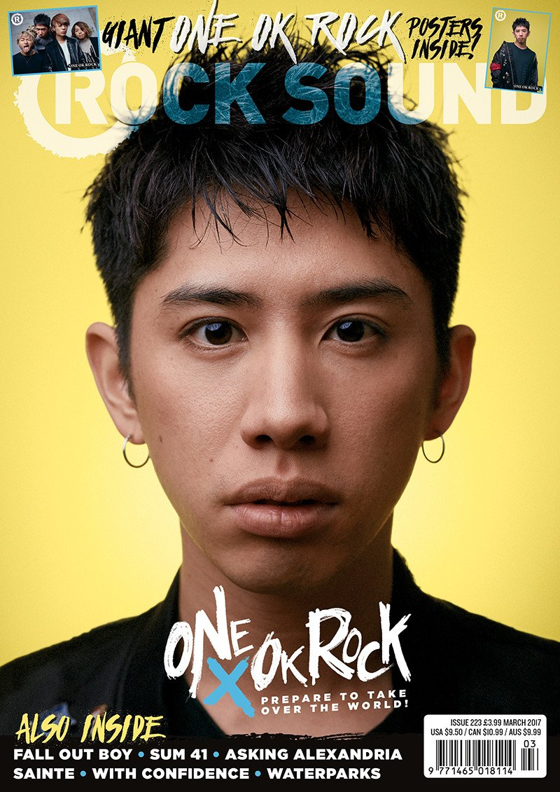Rock Sound Issue 223.3 - One OK Rock (Taka) + One OK Rock Posters - Rock Sound Shop