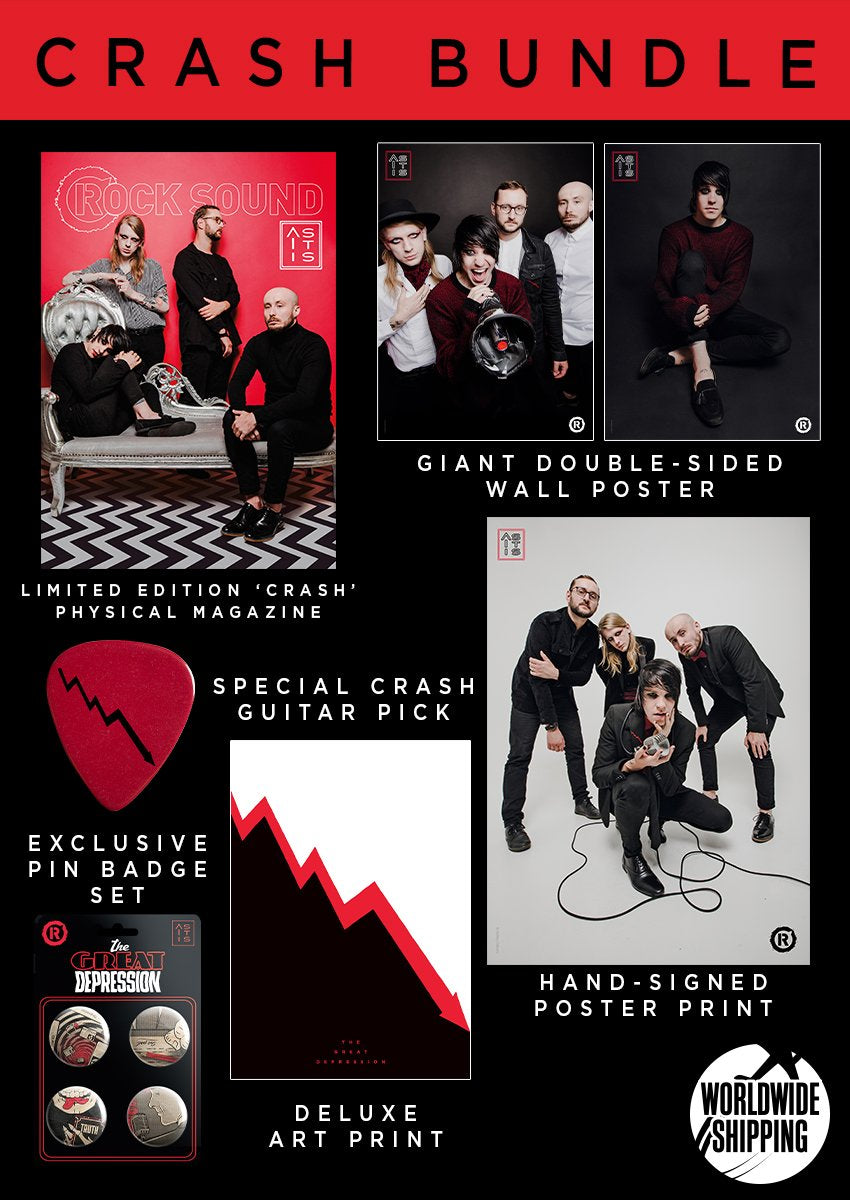 Rock Sound Issue 242.1 - As It Is Crash Bundle