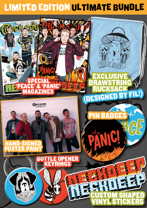 Rock Sound Issue 230.4 - Neck Deep Ultimate Bundle - Rock Sound Shop
