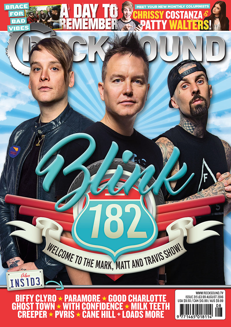 Rock Sound Issue 215 - Blink-182 - Rock Sound Shop