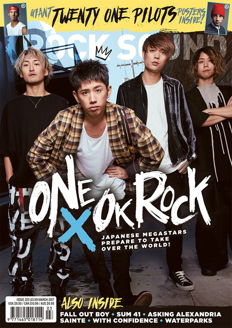 Rock Sound Issue 223.1 - One OK Rock + Twenty One Pilots Posters - Rock Sound Shop