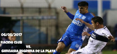 Racing Club Vs Gimnasia Esgrima de la Plata