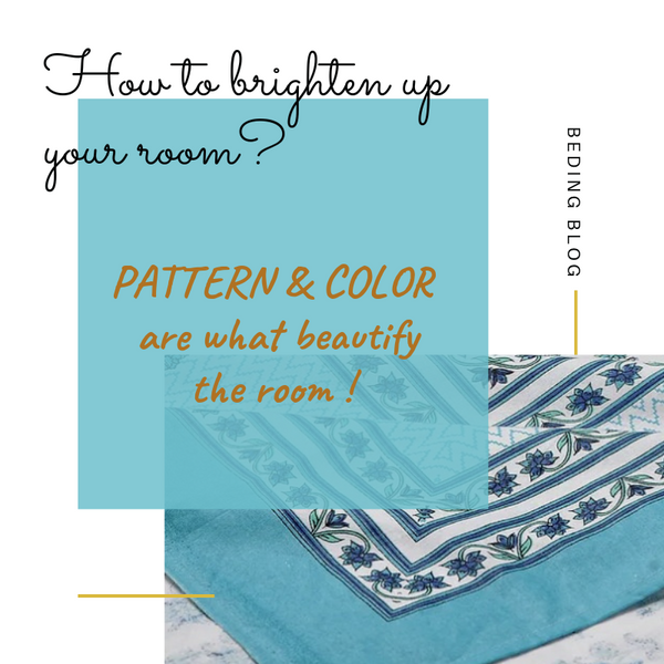 How to brighten up your room with classic prints and colors ?