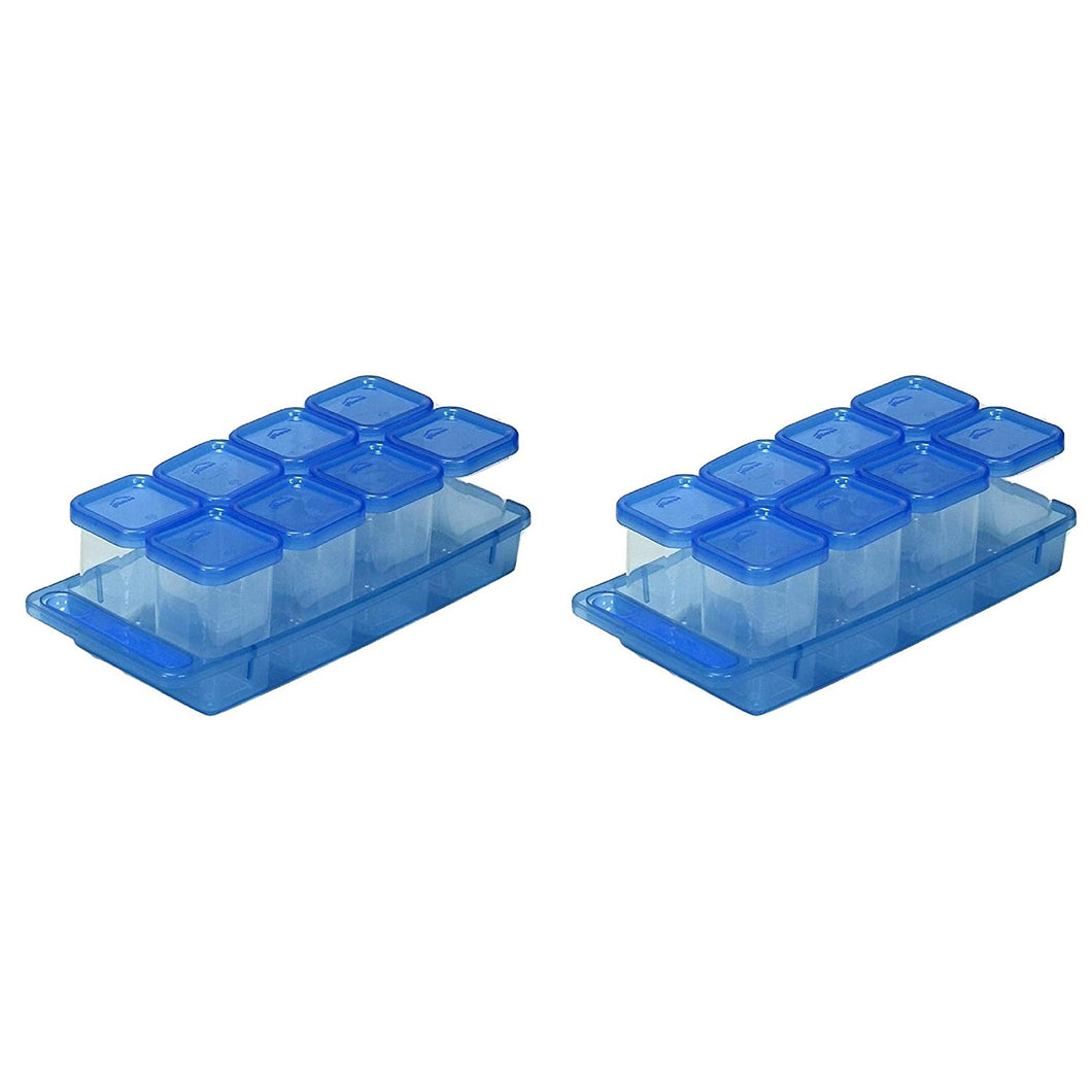 Gluman Masala Container Set Pack of 2 - Blue