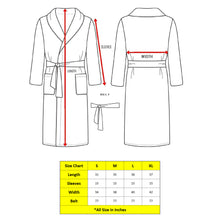 Load image into Gallery viewer, Turkish Bath Premium Cotton Unisex Bathrobe - Brown