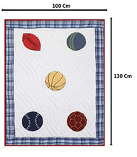 Load image into Gallery viewer, Chic Home Premium Cotton Softest Baby Blanket Quilt 04-10 Years (Sports) - SWHF