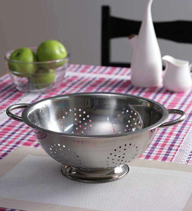 SWHF Stainless Steel 5 L Jumbo Colander and Strainer - SWHF