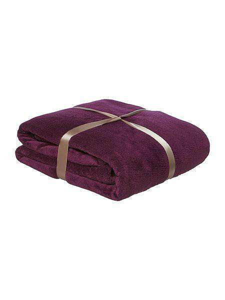 SWHF French Fleece Blanket: Purple - SWHF