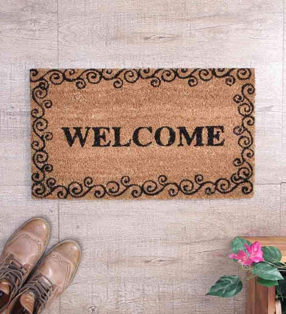SWHF Coir Door Mat: Welcome - SWHF