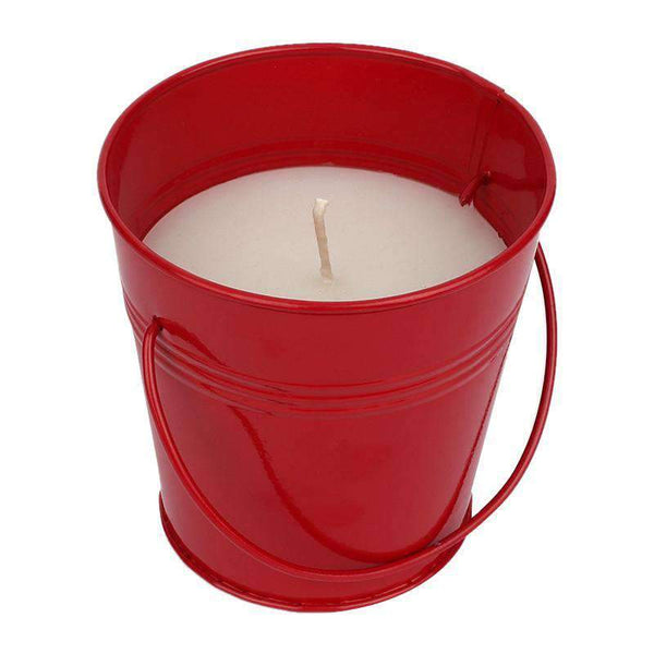 SWHF Mosquito Repellent Bucket Candle:Red - SWHF
