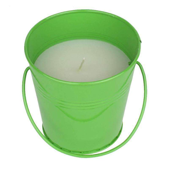 SWHF Mosquito Repellent Bucket Candle:Green - SWHF