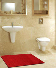 Load image into Gallery viewer, SWHF Jumbo Loop Bath Mat:Red - SWHF