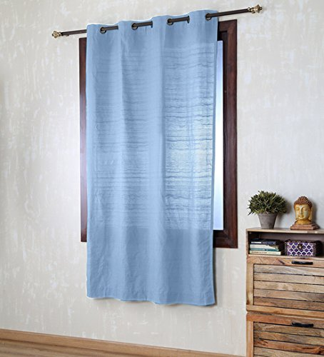 SWHF Wave Curtain (Sky Blue) 7 FT X 4.5 FT