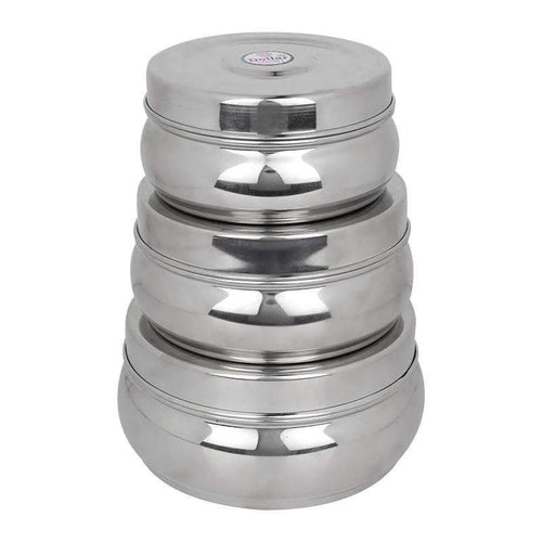 SWHF 3.5 L Stainless Steel Multi-Purpose Storage Food Container & Tiffin Box - SWHF