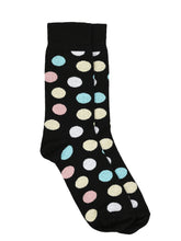Load image into Gallery viewer, SWHF Organic Cotton Unisex Designer Socks Set (Crew Length, Polka Dot-2)