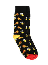 Load image into Gallery viewer, SWHF Organic Cotton Unisex Designer Socks Set (Crew Length, Pizza)