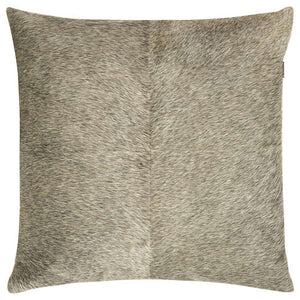 SWHF Leather Cushion Cover: Grey - SWHF