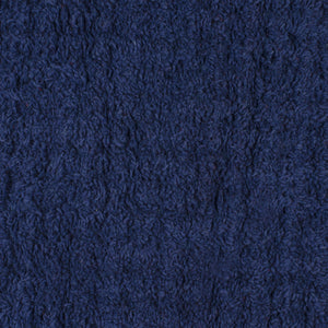 SWHF Premium Cotton Oval Anti Skid Bath Mat: Blue - SWHF