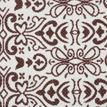 Load image into Gallery viewer, SWHF Double Twisted Cotton Printed & Solid Rug, Set of 2 : 18 X 30 in (Maroon) - SWHF