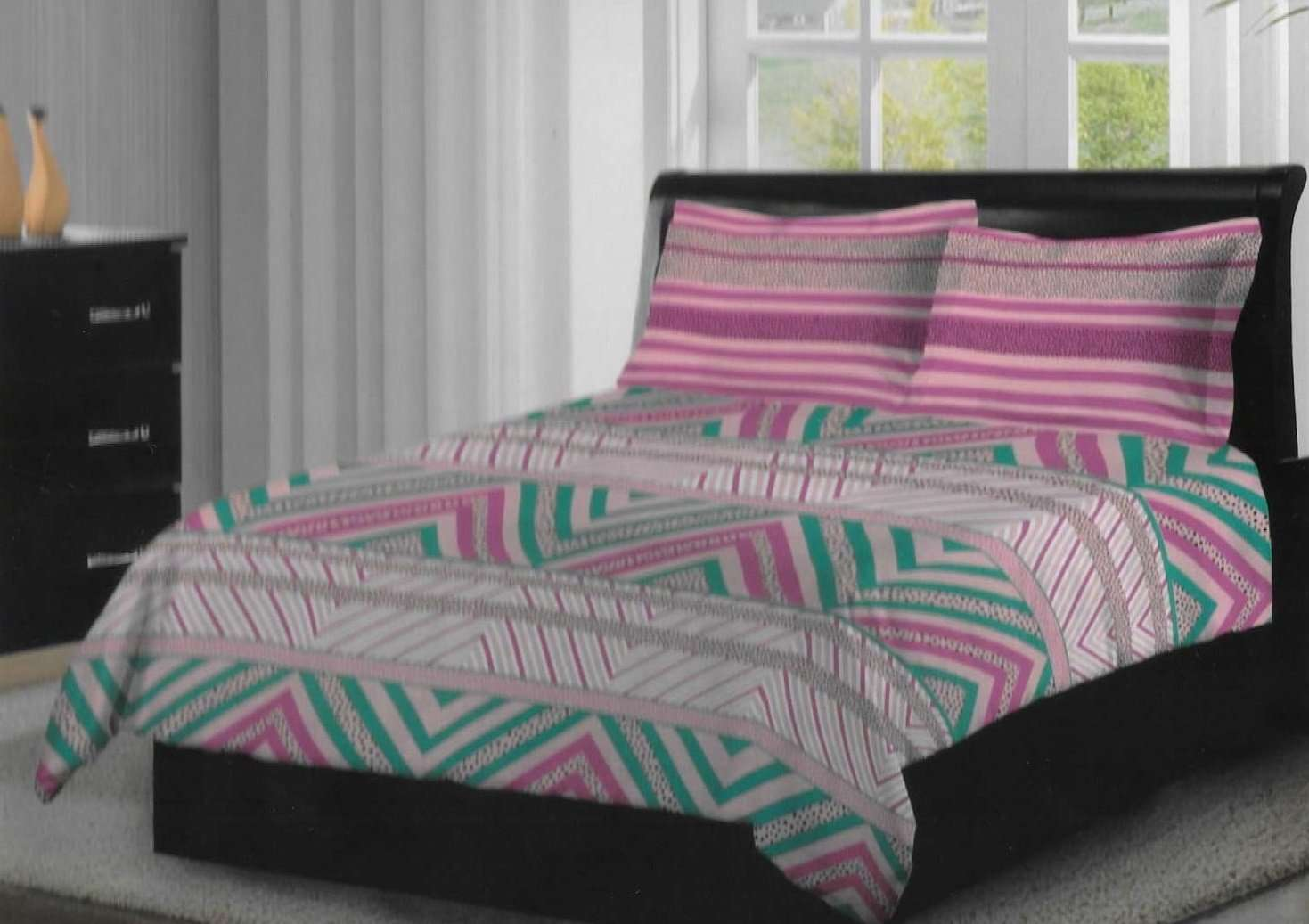 1256b505d Bombay Dyeing Axia 120 TC Cotton Double Bedsheet with 2 Pillow Covers -  SWHF ...