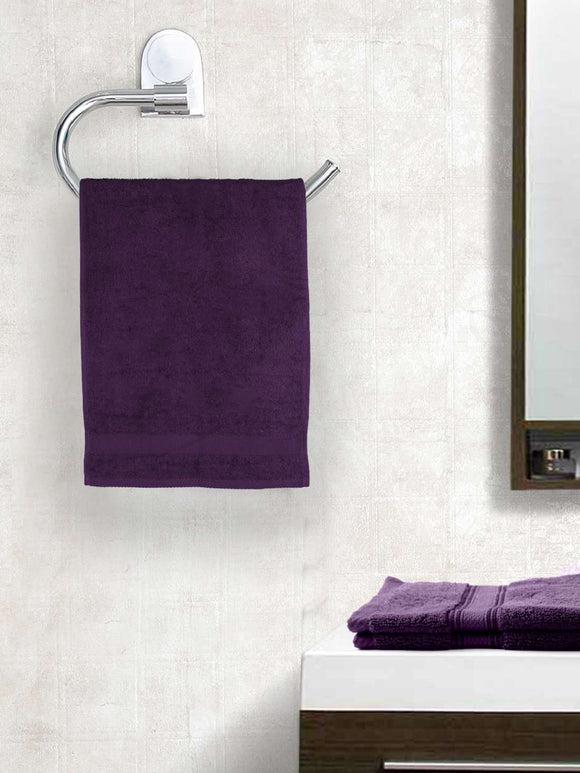 EuroSpa Premium Cotton 360 GSM Supreme baby  Bath towel : Purple - SWHF