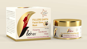 F'loher FULLERS EARTH Facial Glow Mask - SWHF